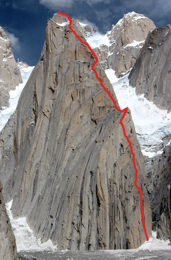 Ledgeway to Heaven (5.12+, 28 pitches, ca. 1300m)