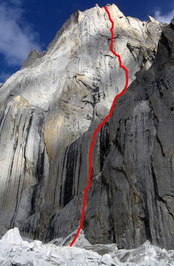 Badal (5.12+ A0, 1200m),