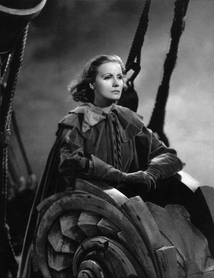La reine Christine de Rouben Mamoulian (1933), con Greta Garbo. Colección Cahiers du Cinéma