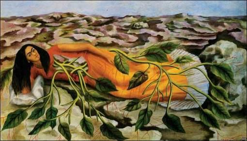 """El cuadro """"Raíces"""" fue vendido por 5,6 millones de dólares en Nueva York, la suma más alta pagada por una pieza Latinoamericana."""