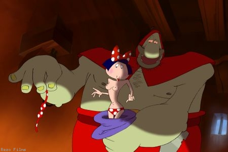 """Blanche neige la suite"" de Jean-Paul ""Picha"" Walravens, filme donde caricaturiza los personajes de Disney"