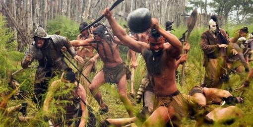"""Nativos americanos en """"El nuevo mundo"""" © New Line Cinema"""